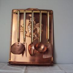 Copper Kitchen Utensil Holder Narrow Cabinet Antique Collector S Complete Catawiki