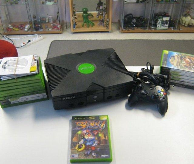 Very Nice Original Microsoft X Box 1 Controller20 Original Games Like