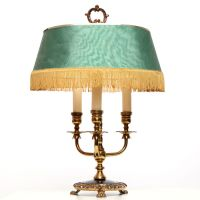 Vintage French Three-arm Bouillotte Lamp, circa 1960 ...
