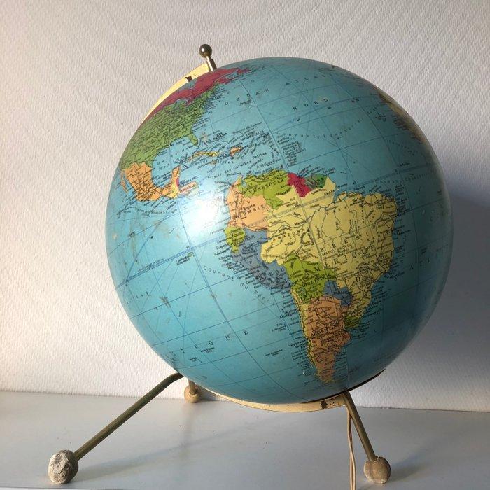 globe terrestre taride 43cm vintage