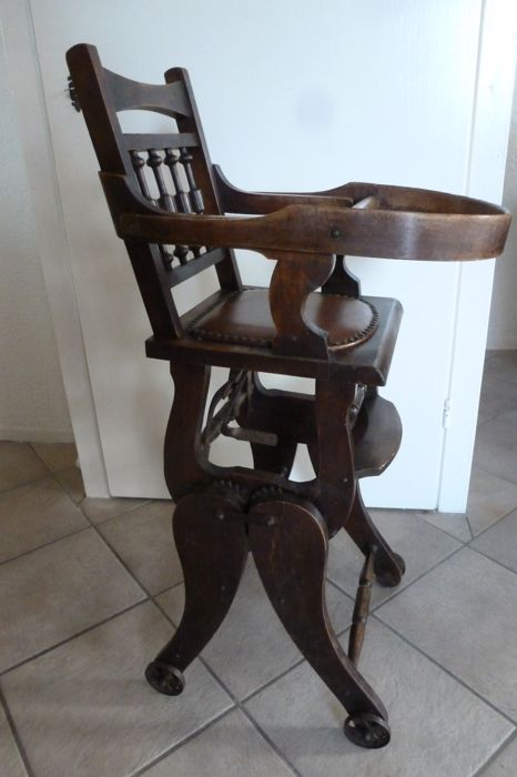 antique high chairs corner for sale beautiful chair rocking victorian 1st half 20th century