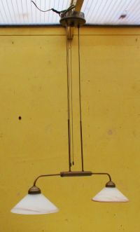 Billiard table lamp in classic style