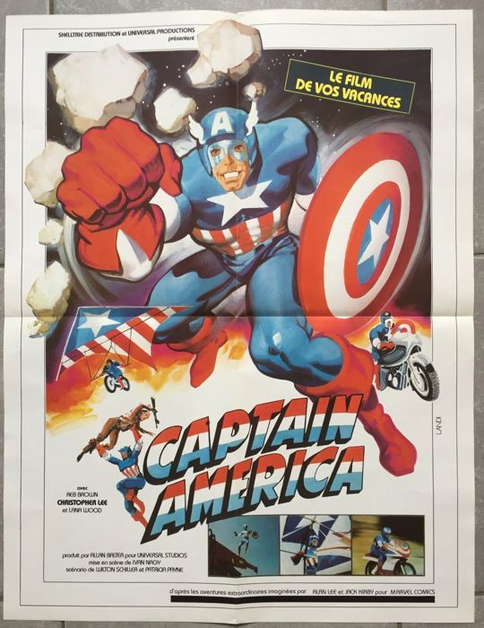 captain america movie poster french