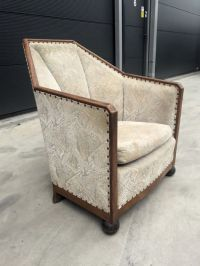Art Deco Chair in the manner of Pierre Chareau - Catawiki