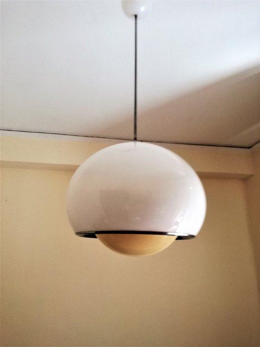 Coppia di lampade harvey guzzini molla anni '70 space age style vintage standing. Guzzini Bud Pendant Light Large Model Catawiki