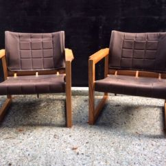 Ikea Arm Chairs Rattan Weave Garden Karing Mobring For 2 Vintage Armchairs Model Diana Catawiki