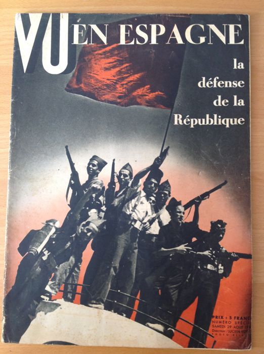 Robert Capa Guerre D Espagne : robert, guerre, espagne, Collectif,, Robert, Revues, Guerre, D'Espagne, Catawiki
