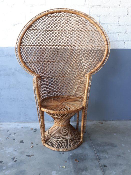 vintage peacock chair cheap comfortable chairs a rattan catawiki