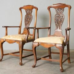 Queen Anne Style Chairs Hanging Chair Debenhams Set Of 10 Mahogany About 1900 Catawiki