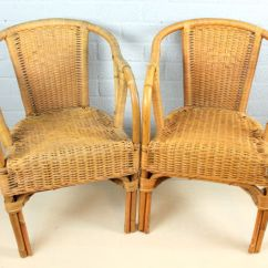 Bamboo Chairs Lounge Chair Vintage Braided Catawiki
