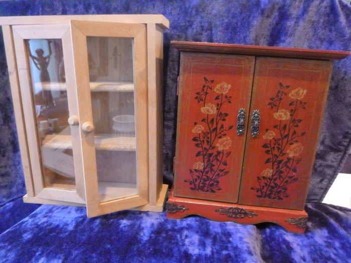 Vetrine  mobili da cucina 2  Legno  Catawiki
