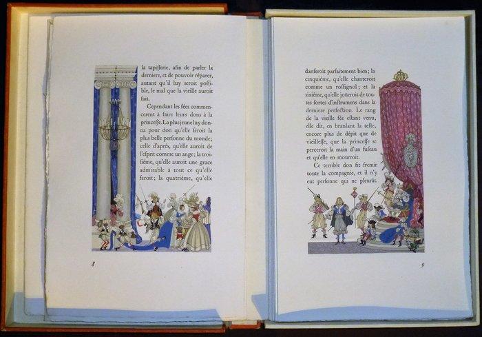 Charles Perrault Charles Henry Lemarie Histoire Du Temps Passe Ou Contes La Belle Au Bois Dormant La Barbe Bleue Cendrillon 1948 1950