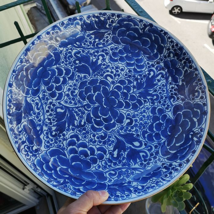 Plate - Porcelain - China - Kangxi (1662-1722) - Catawiki