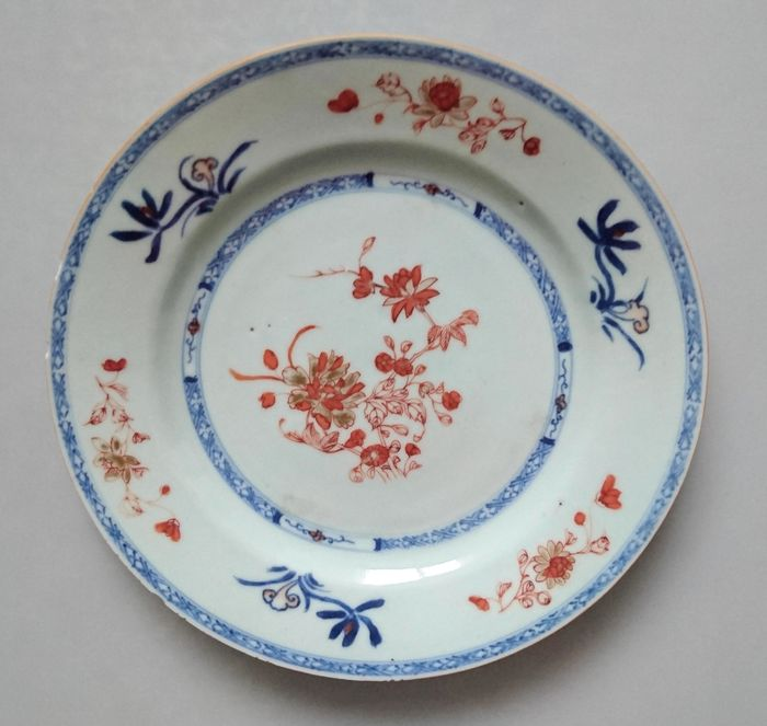 NO Reserve - Plate - Porcelain - China - Qianlong (1736-1795) - Catawiki