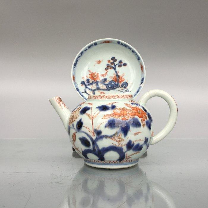 Teapot and saucer - Imari - Porcelain - China - Qianlong (1736-1795) - Catawiki