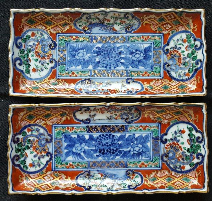 Tray (2) - Imari - Porcelain - Japan - Catawiki