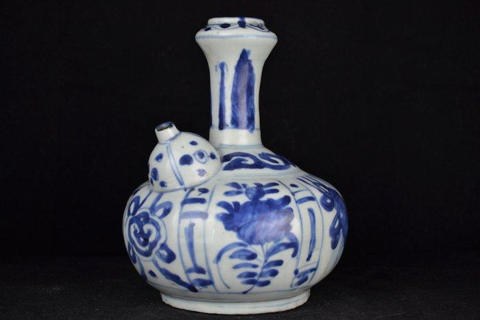 Kendi (1) - Blue and white - Porcelain - China - Wanli (1573-1619) - Catawiki