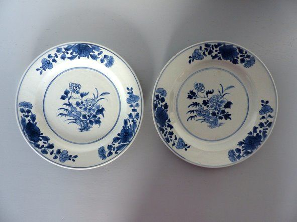 2 porcelain plates - Porcelain - China - Qianlong (1736-1795) - Catawiki