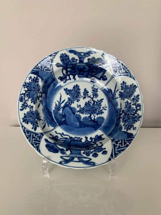 Bowl (1) - Porcelain - Large size! - China - Kangxi (1662-1722) - Catawiki