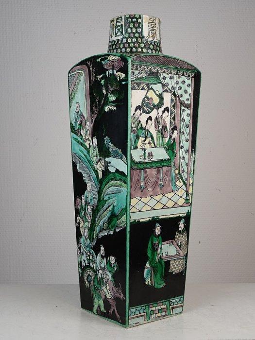Vase - Famille noire - Porcelain - China - 19th century - Catawiki