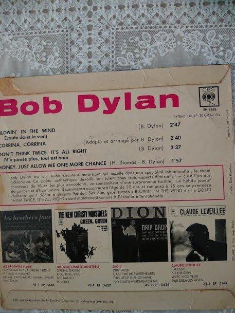 N'y Pense Plus Tout Est Bien : pense, Dylan, Blowin', Multiple, Titles, Catawiki