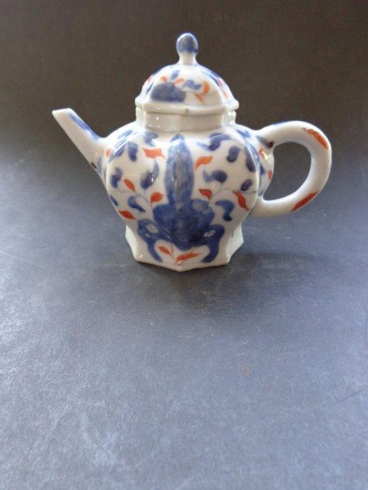 Draw pot (1) - Chinese export - Porcelain - flower altar - Kangxi 1662--1722 - China - 18th century - Catawiki