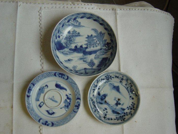 Plates (3) - Porcelain - Qianlong - China - 18th century - Catawiki