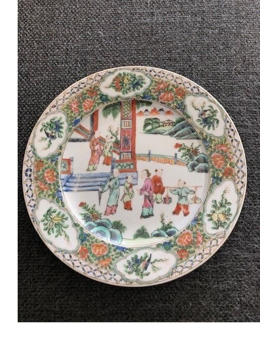 Plate - Famille rose - Porcelain - China - 19th century - Catawiki