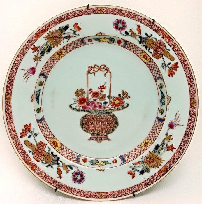 Fabulous Chinese Family Rose Dish - Porcelain - China - Qianlong (1736-1795) - Catawiki