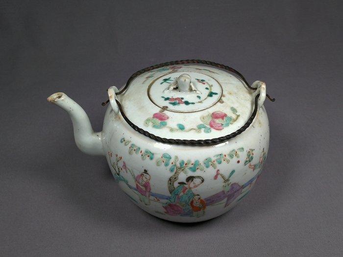 Teapot - Famille rose - Porcelain - China - Late 19th century - Catawiki