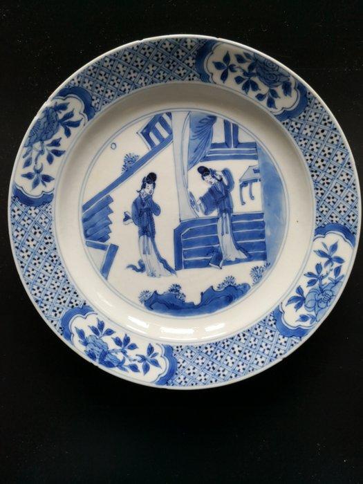 Dish (1) - Porcelain - China - Kangxi (1662-1722) - Catawiki