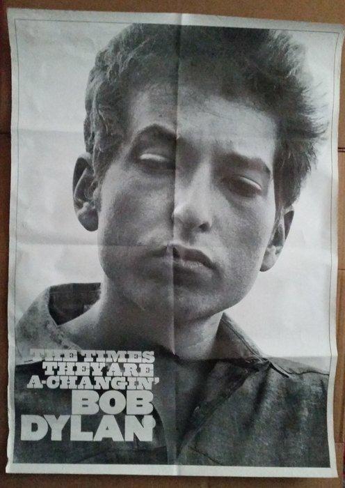 bob dylan vintage promo poster