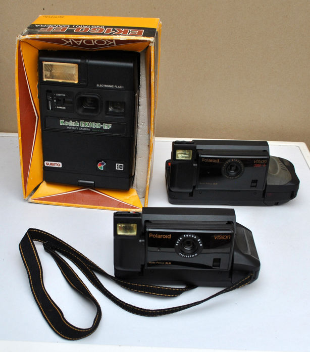 Kodak, Polaroid KODAK EK160-EF, KODAK EK100 Polaroid 600 extreme Polaroid IMAGE 2 Polaroid VISION - Catawiki