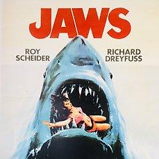 richard dreyfuss signed jaws poster