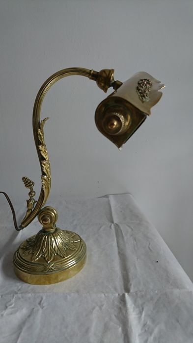 ancienne lampe de bureau art deco