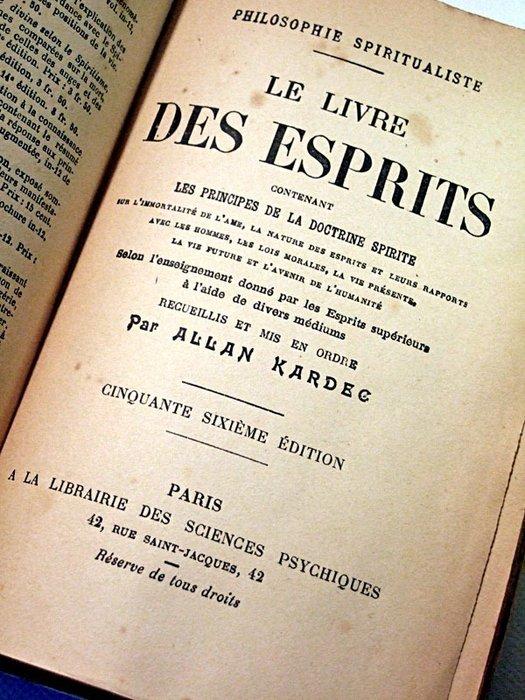 Allan Kardec Le Livre Des Esprits : allan, kardec, livre, esprits, Allan, Kardec, Livre, Esprits, Catawiki
