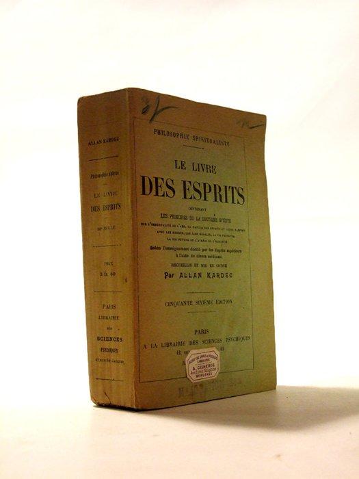 Le Livre Des Esprits Allan Kardec : livre, esprits, allan, kardec, Allan, Kardec, Livre, Esprits, Catawiki