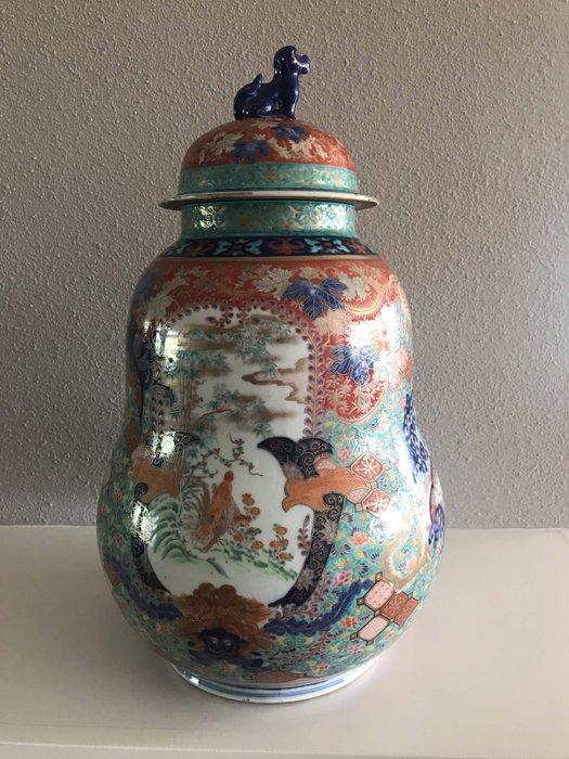 Imari covered vase - Ceramic porcelain - Japan - 19th century - Catawiki