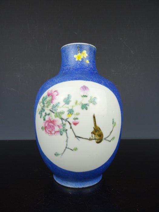 Vase - Famille rose - Porcelain - China - Republic period (1912-1949) - Catawiki