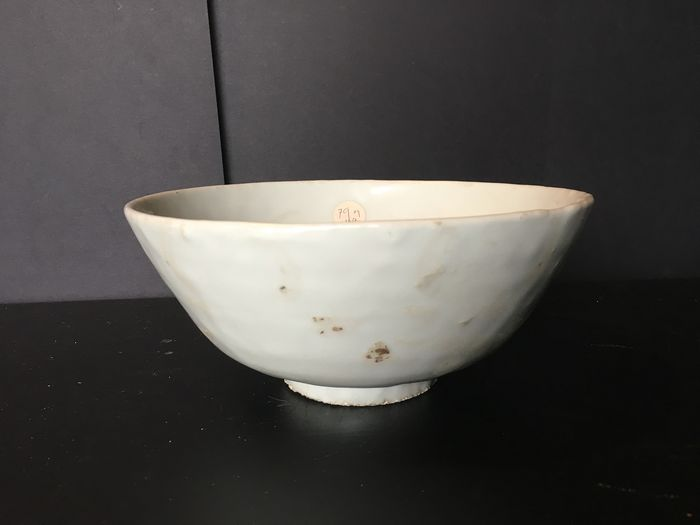 Bowl - Blue and white - Porcelain - China - Late Ming period, 17th C - Catawiki