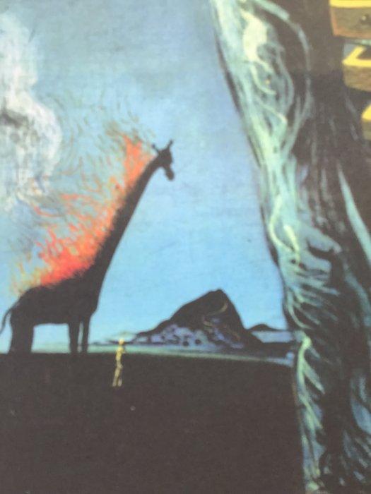 La Girafe En Feu : girafe, Salvador, Girafe, Catawiki