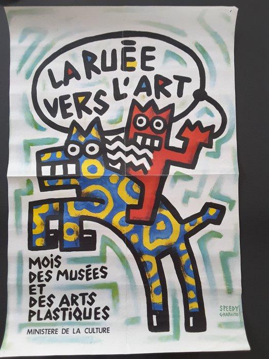 La Ruée Vers L Art : ruée, Speedy, Graphito, Ruée, L'art, Catawiki