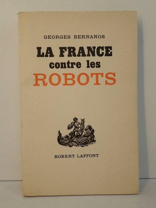 Bernanos La France Contre Les Robots : bernanos, france, contre, robots, Georges, Bernanos, France, Contre, Robots, Catawiki