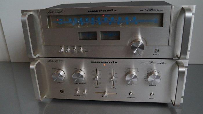 marantz 1050 2050 stereo amplifier