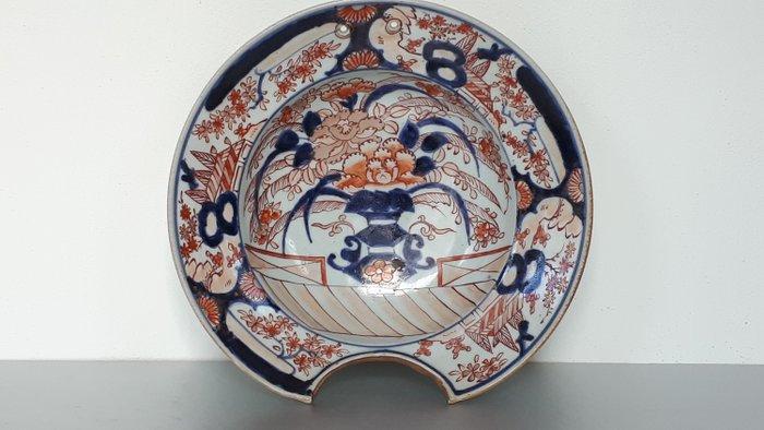 large shaving basin - Porcelain - Imari - Japan - 18th century, Edo period - Catawiki