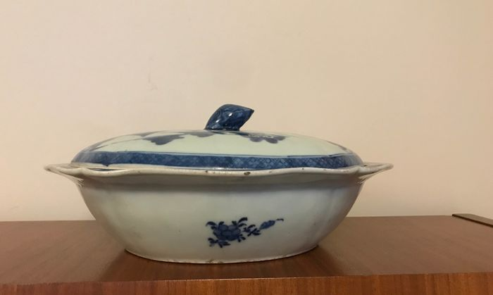 soup bowl - Porcelain - China - 18th century - Catawiki