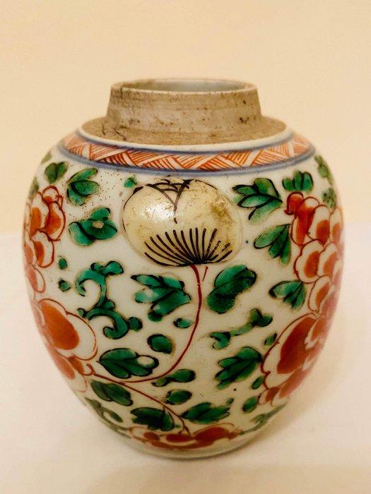 Ginger jar - Porcelain - China - Kangxi (1662-1722) - Catawiki