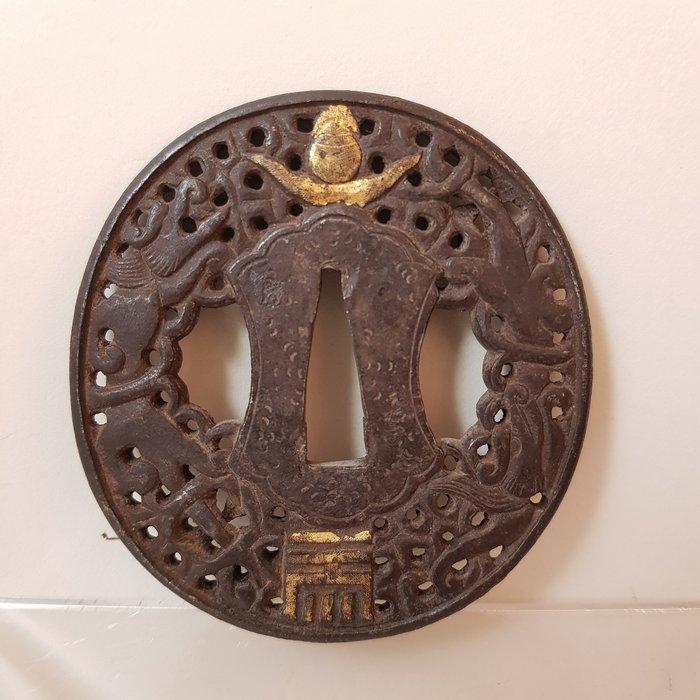 Tsuba (1) - Iron - Japan - Edo Period (1600-1868)