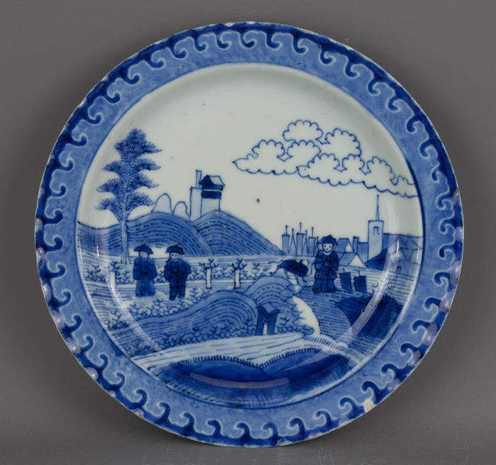 Plate - Chinese export - Porcelain - China - Kangxi (1662-1722) - Catawiki