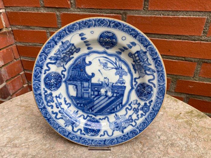 Plate (1) - Porcelain - China - Kangxi (1662-1722) - Catawiki